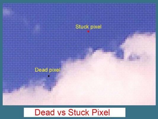 Penyebab Layar Monitor Dead Pixel