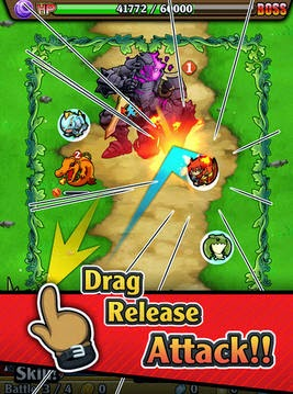 Brave Striker - Fun RPG Game for Android phones and tablets free download