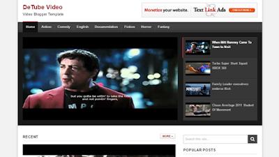 Detube Video Teması