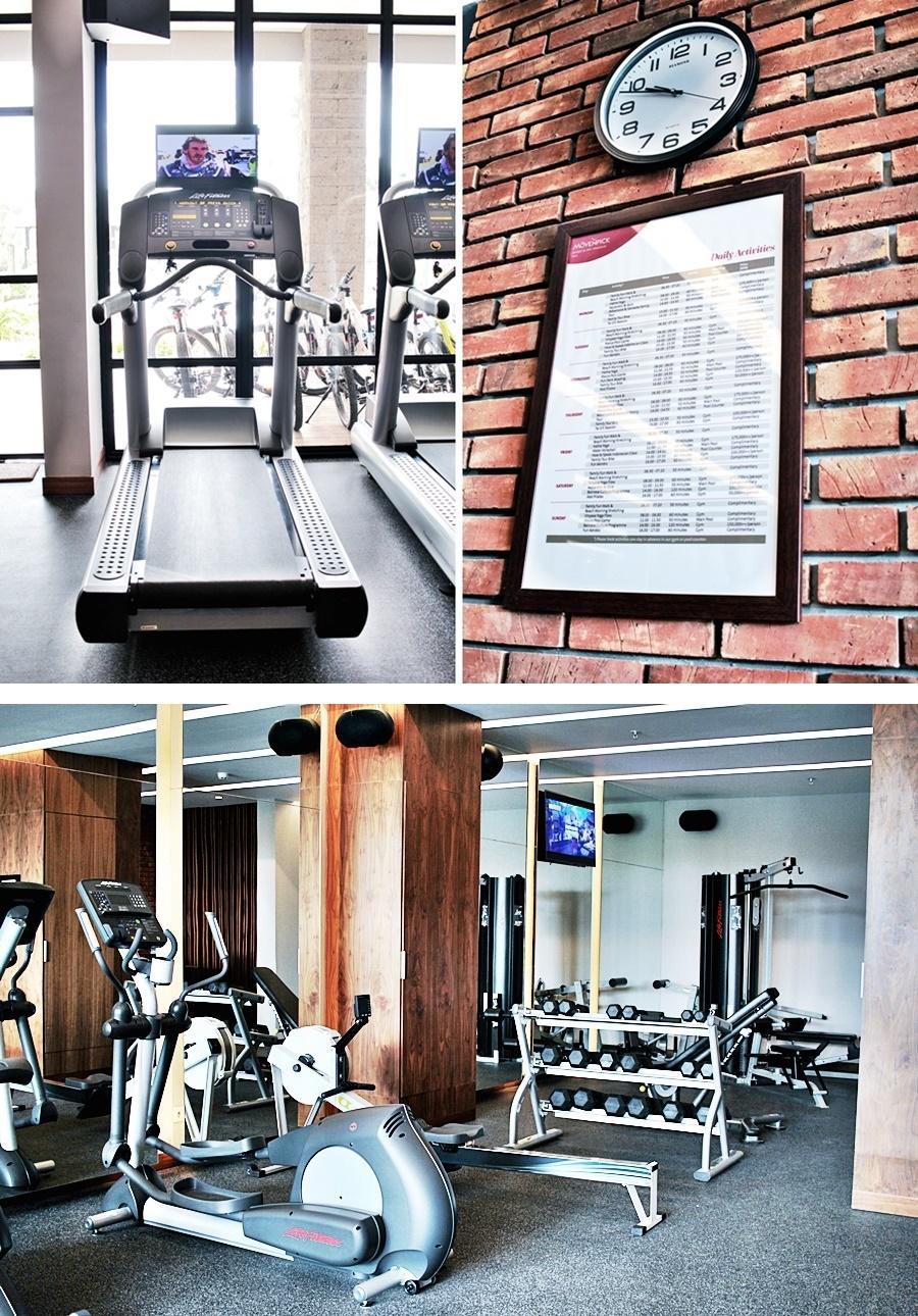 gym fitness hotel