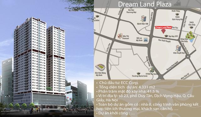 Vị trí siêu đắc địa của dự án chung cư Dream Land Plaza