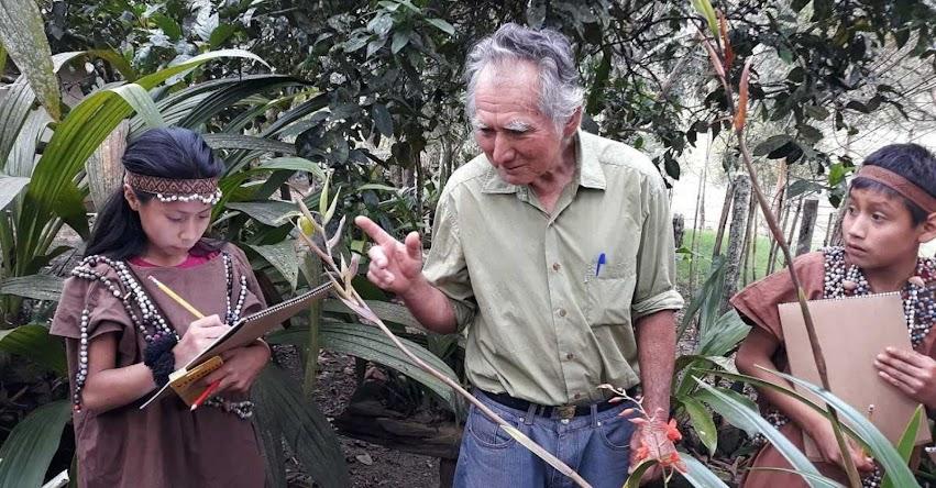 MÁXIMO ACOSTA CIRIACO: Conoce al Señor de las Orquídeas, usuario de Pensión 65 [video]