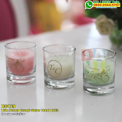 Lilin Aroma Terapi Gelas Tebal LU03