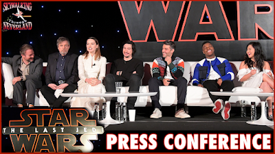 Latest Episode Of Skywalking Through Neverland Has The Last Jedi Full Press Conference audio