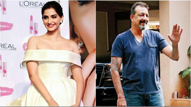 Here's how Sonam Kapoor reacted to Sanjay Dutt's release from jail!
