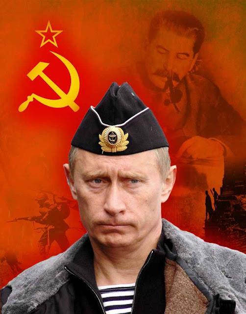 Putin confessa: 'sou comunista'.
