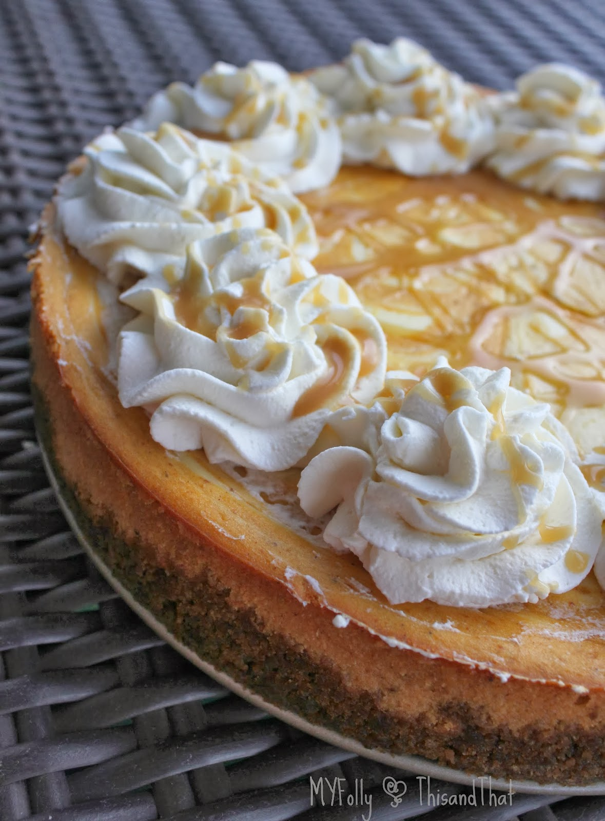 This And That National Pumpkin Cheesecake Day