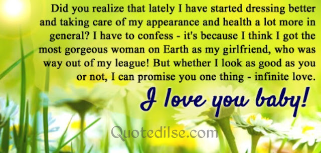 sweet long message for him