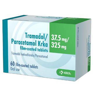 Tramadol+Paracetamol KrKa - Medicamentos com paracetamol de libertação prolongada suspensos