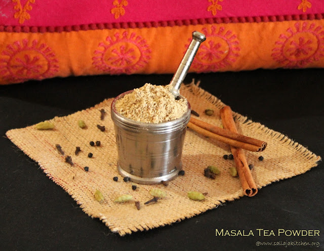 images of Homemade Masala Tea Powder / Indian Masala Chai Recipe / Chai ka Masala / Chai Powder / Tea Masala Recipe
