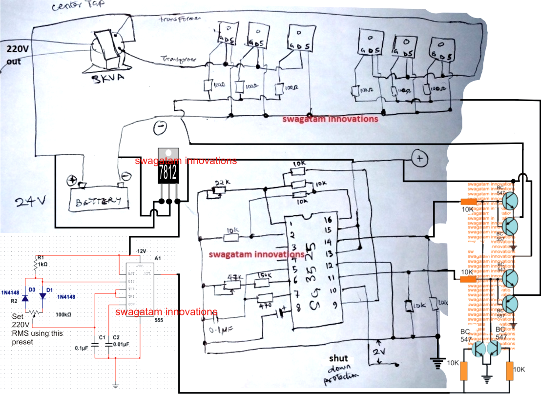 481 GFCI Workshop furthermore Calculate Draw Single Line Diagram Power System together with Homemade 2000w Power Inverter With Circuit Diagrams besides Universal 12 Volt 3 Phase Regulator besides 1998 2003 Honda Vt750c Electrical. on 3 phase generator wiring diagram