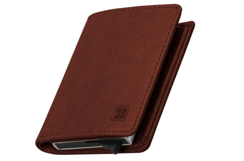 Promate RFID Safe Leather Wallet