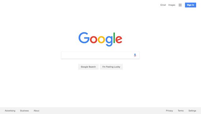 A página do Bing está cheia de informações, notícias e não facilita aos usuários fazerem rapidamente o que querem fazer: pesquisa.