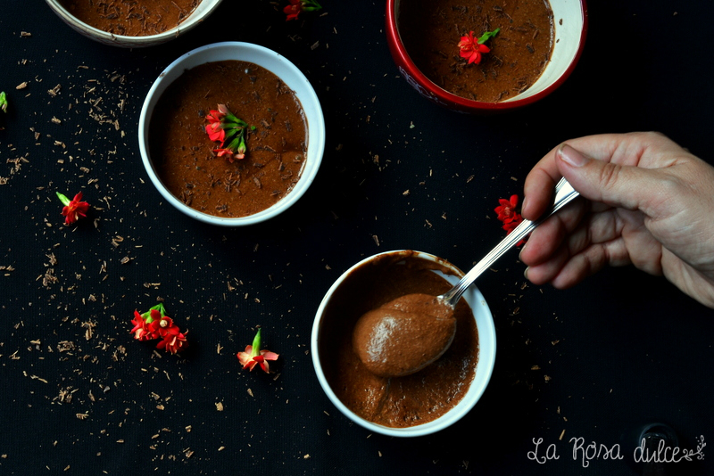 Mousse de chocolate de Julia Child