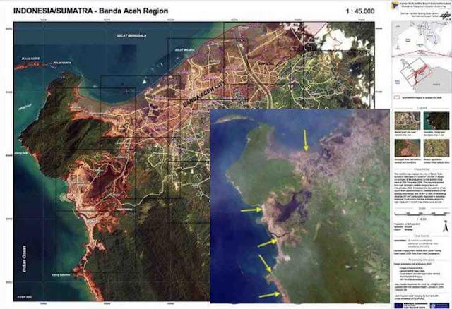 Informasi HAARP: Lokasi pendaratan pasukan Amerika di Aceh