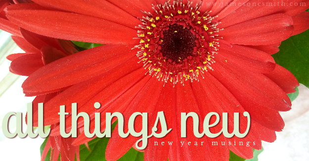 All Things New | New Year Musings