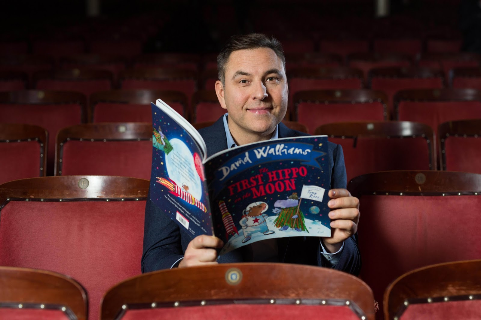 The First Hippo on the Moon by David Walliams makes it's North East Theatre Debut at the Tyne Theatre and Opera House , Newcastle | Saturday 4 Feb 2017 | 1:30pm plus ticket giveaway