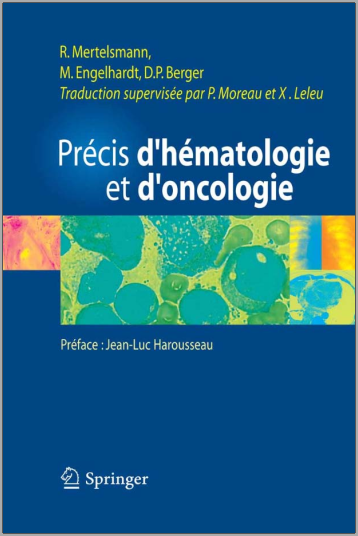 Livre : Précis d'hématologie et d'oncologie - Roland Mertelsmann PDF