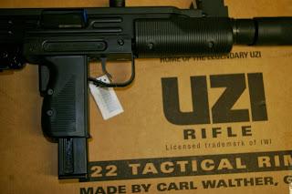 Sfera Gun Club: Walther IWI Uzi Rifle  22 LR Τουφέκι (100 Photos, 5
