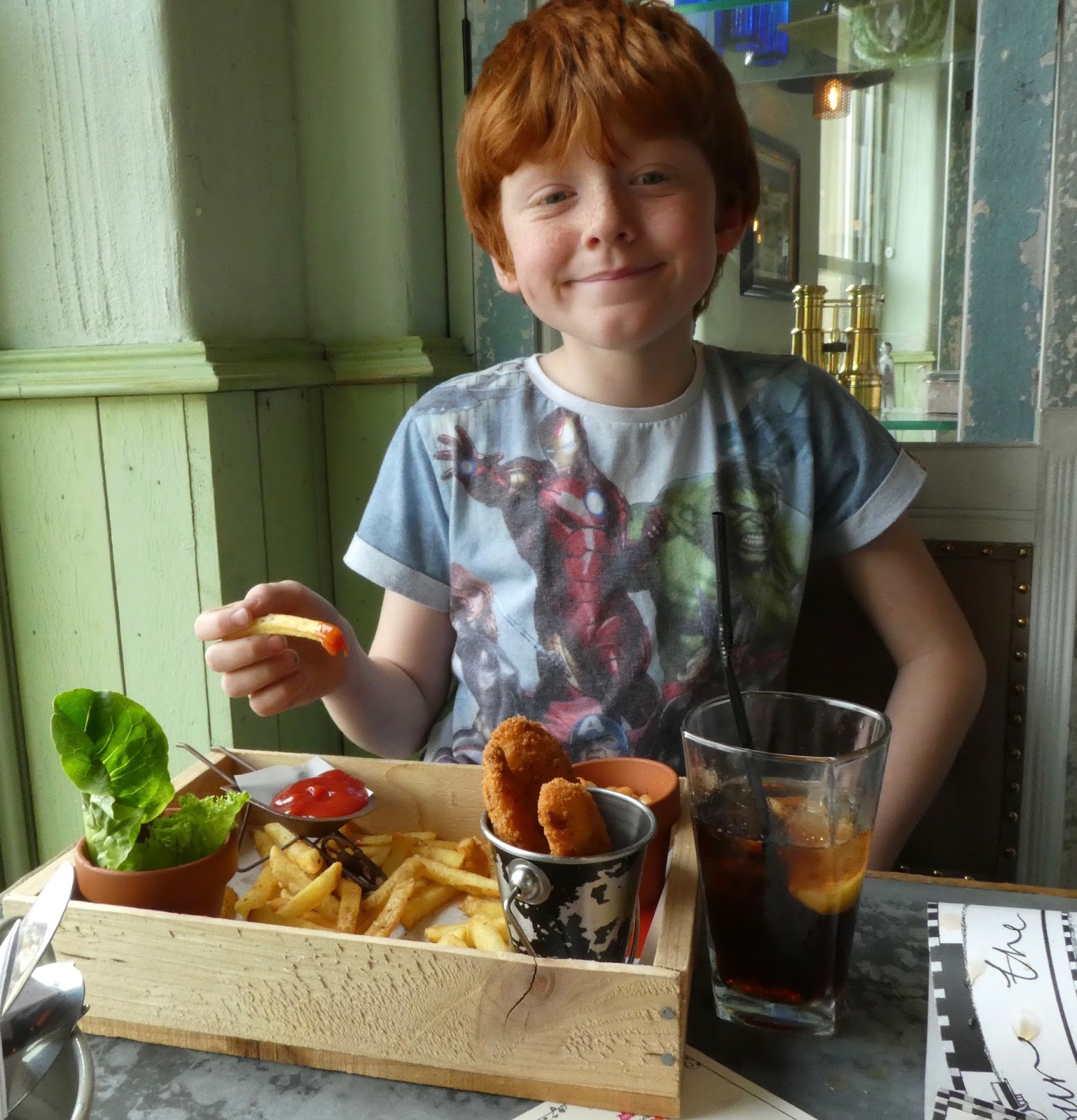 The Botanist Newcastle - Children's Menu Review