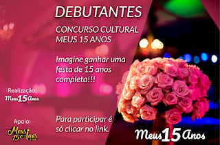 Concurso Cultural Meus 15 Anos
