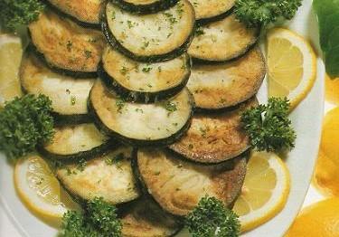 recette Salade des Aubergines