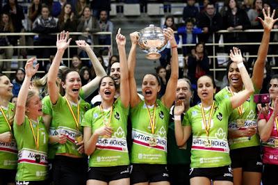 VOLEIBOL - Copa de la Reina 2016 (Leganés): tercera copa para el Naturhouse seguida