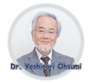 Dr. Yoshinori Ohsumi Photo
