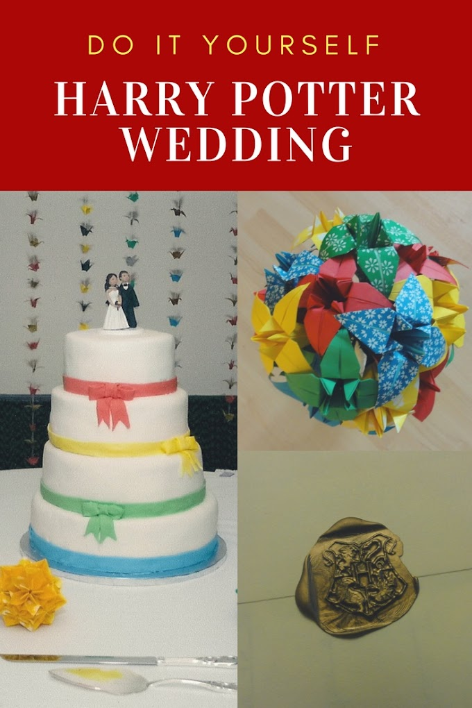 DIY Harry Potter Themed Wedding