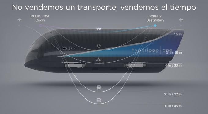 Primera Prueba: Hyperloop One, no es solo un transporte, es menos tiempo