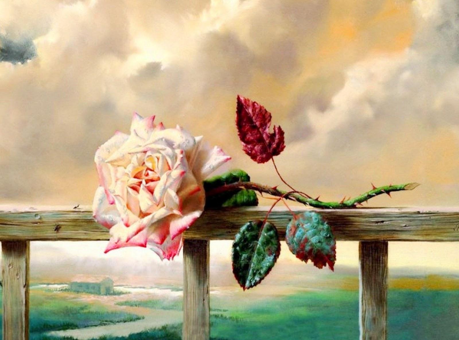 Cuadros modernos pinturas y dibujos cuadros al leo de - Cuadros modernos con mucho color ...