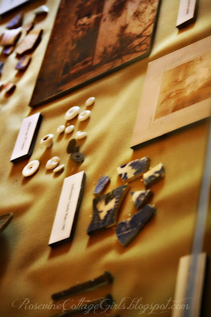 Artifacts on the wall of the Belle Meade Plantation museum | rosevinecottagegirls.com | (c) Rosevine Cottage Girls