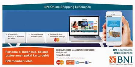 Cara Aktivasi VCN Debit Online BNI?