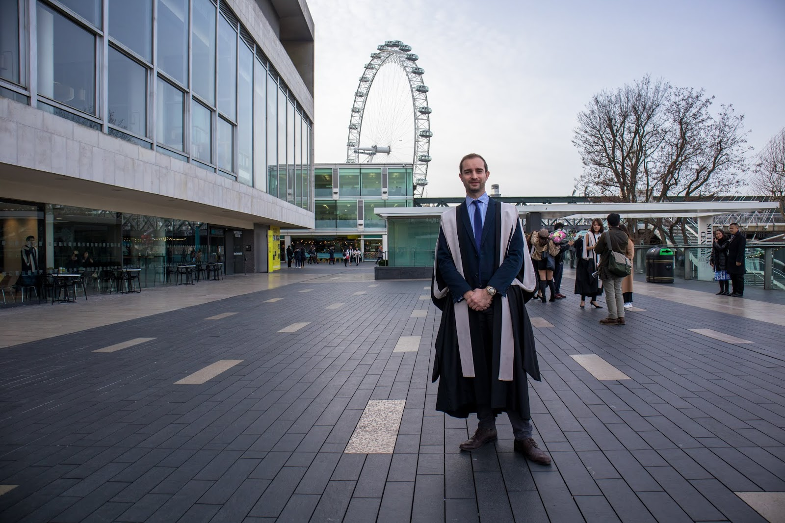 KCL Graduation 2019, london january 2019, suz and the sun travels, suz and the sun style, london eye, southbank centre, royal festival hall, graduate