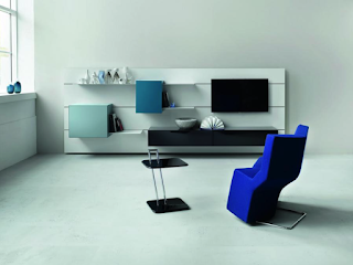 Pure modern furniture media center