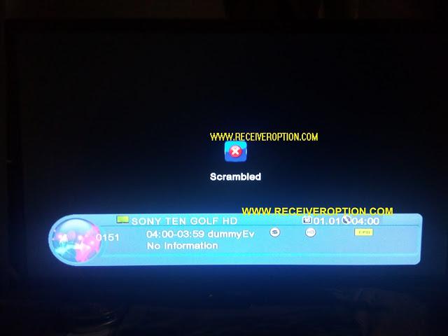 NEOSAT SX-8888 HD RECEIVER POWERVU KEY OPTION