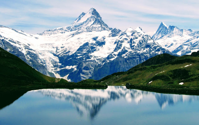Lake Bachalpsee, Switzerland