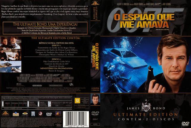 Capa DVD O Espião Que Me Amava
