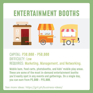 Entertainment Booths