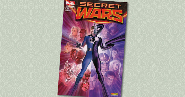 Secret Wars 3 Panini Cover