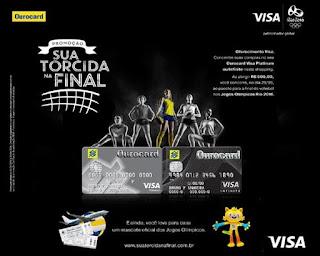 Participar promoção Ourocard Olimpíadas Rio 2016