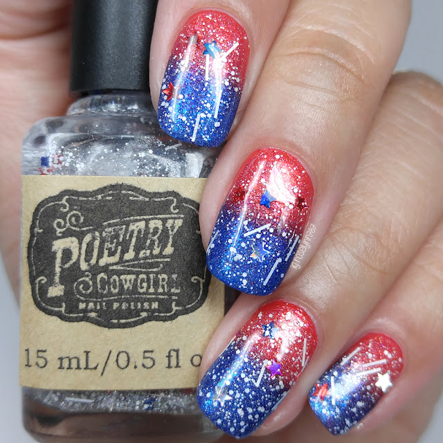 Poetry Cowgirl Nail Polish - Stars & Stripes