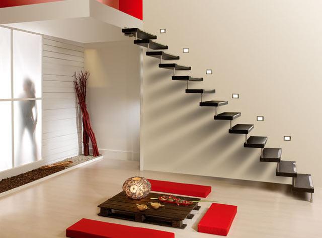 Escaleras bonitas y todo sobre escaleras - Escaleras espacios pequenos ...