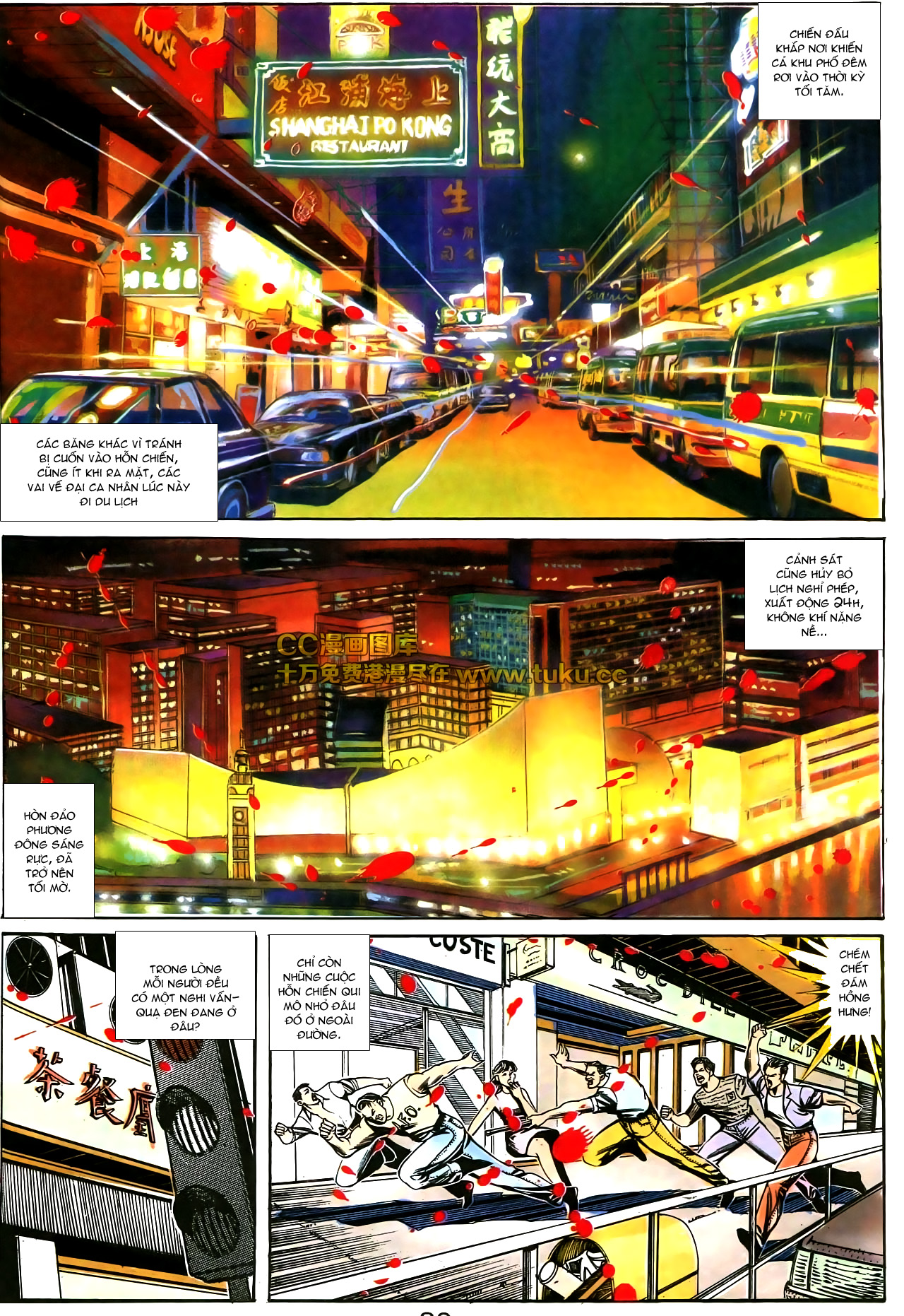 Người Trong Giang Hồ chapter 178: bối cảnh quạ đen trang 17