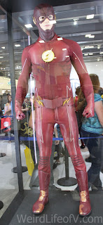 The Flash costume from the WB show