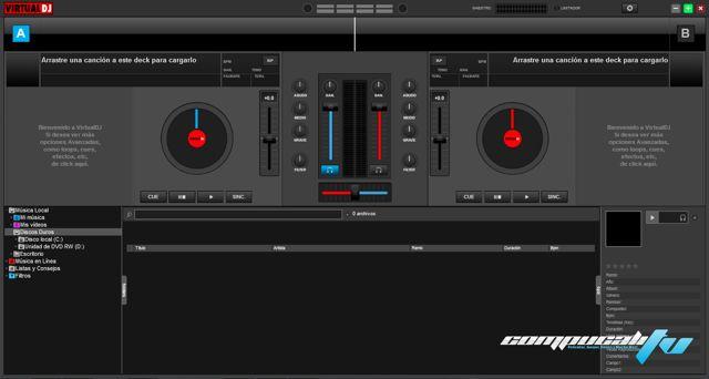 Atomix Virtual DJ Pro 8.3 Full Español