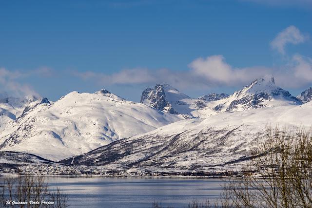 Panorámica en el Winter Trail Tromsø - Noruega, por El Guisante Verde Project
