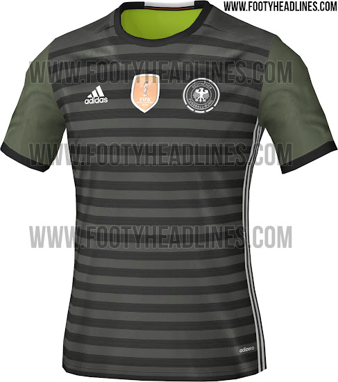 Deutschland Em 2016 Trikots Enthüllt Nur Fussball