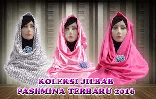 Grosir jilbab pashmina model terbaru harga murah