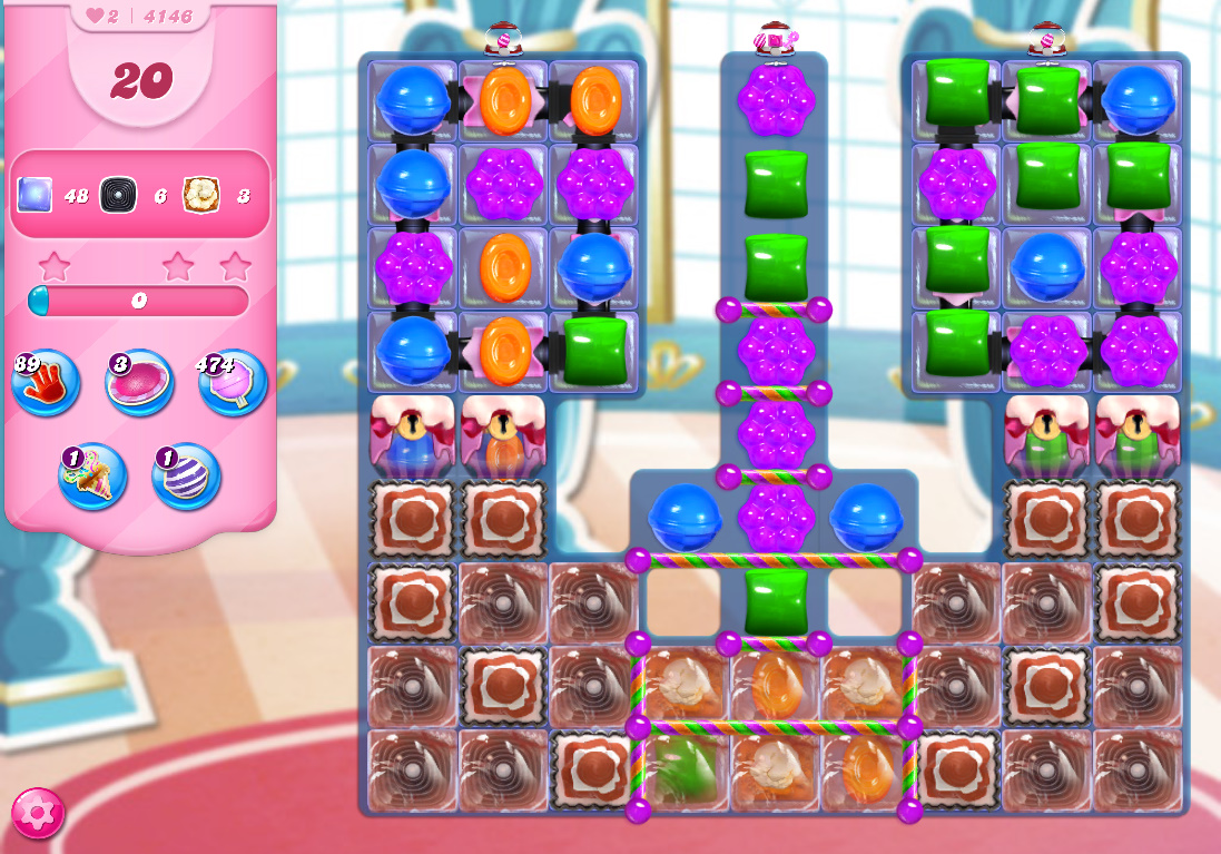 Candy Crush Saga level 4146